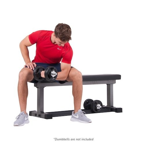 BEST WEIGHT BENCHES FOR HOME 10. Body Power 1000 LBS. WEIGHT BENCH w/BUILT IN STORAGE RACK