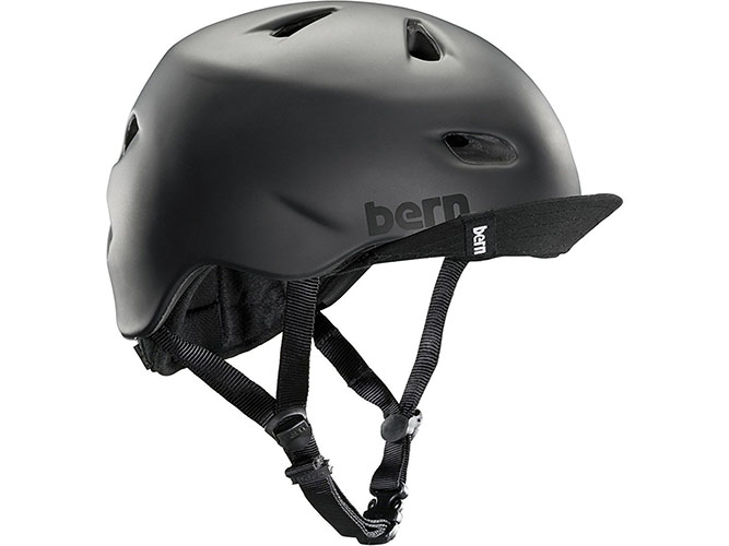 7. Bern Unlimited Brentwood Summer Helmet with Flip Visor