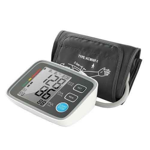 Best Upper Arm Blood Pressure Monitors 10. Fam-health Upper Arm Blood Pressure Monitor