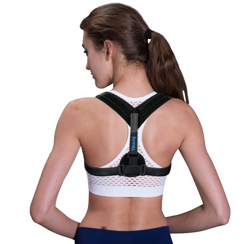 BACK BRACES FOR POSTURE 5. Posture Corrector Spinal Support - Physical Therapy Posture Brace for Men or Women - Back, Shoulder, and Neck Pain Relief - Posture Trainer
