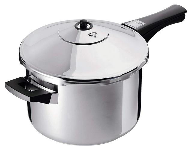 Best Stovetop Pressure Cookers 6. Kuhn Rikon Duromatic Stainless-Steel Saucepan Pressure Cooker - 7.4-Qt