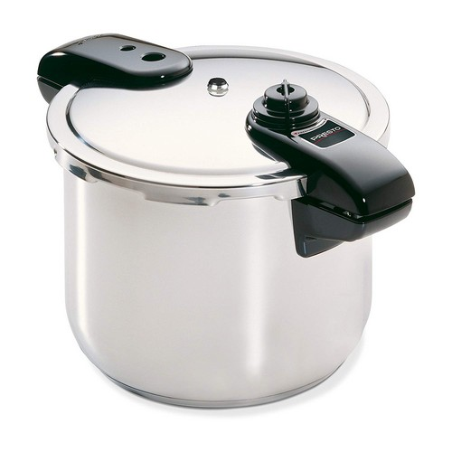 Best Stovetop Pressure Cookers 4. Presto 01370 8-Quart Stainless Steel Pressure Cooker