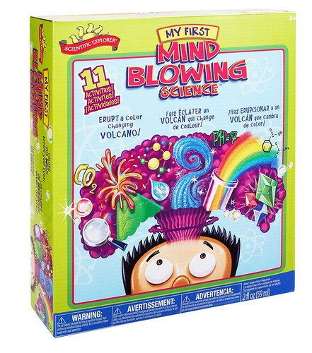 Best Educational Toys for 5-year-old 2. Scientific Explorer My First Mind Blowing Science Kit
