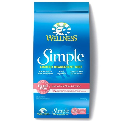 Best Grain Free Dog Food for Skin Allergies 8. Wellness Simple Natural Limited Ingredient Dry Dog Food