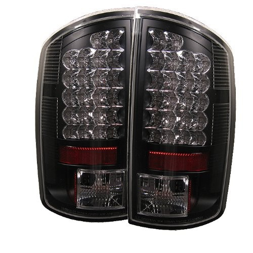 Best Dodge Ram LED Tail Lights 2. Spyder Dodge LED Tail Lights - Black