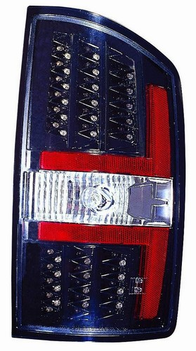Best Dodge Ram LED Tail Lights 5. Depo 334-1909PXNS2C Dodge Ram Pickup Black LED Tail Light
