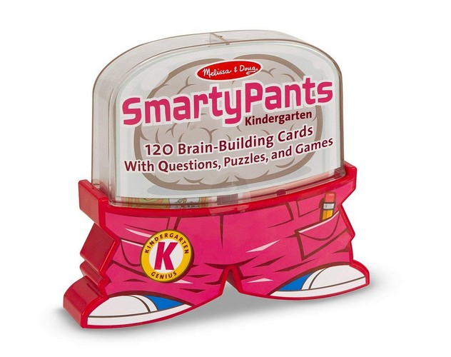 Best Educational Toys for 5-year-old 1. Melissa & Doug Smarty Pants Kindergarten Card Set