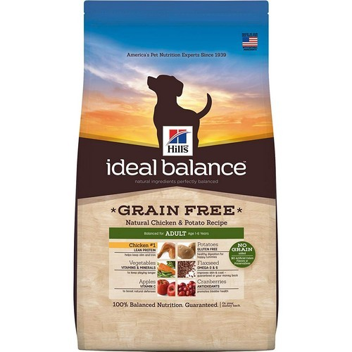 Best Grain Free Dog Food for Skin Allergies 3. Hill's Ideal Balance Grain Free Dog Food
