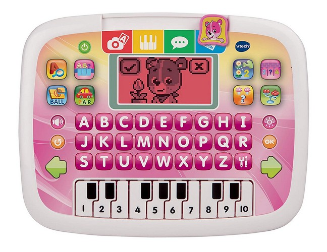 Best Educational Toys for 5-year-old 3. VTech Little Apps Tablet, Pink