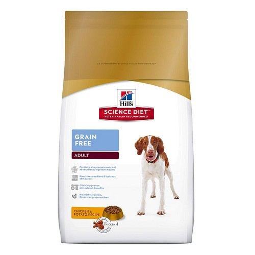 Best Grain Free Dog Food for Skin Allergies 4. Hill's Science Diet Grain Free Dog Food, Chicken & Potato Recipe Dry Dog Food