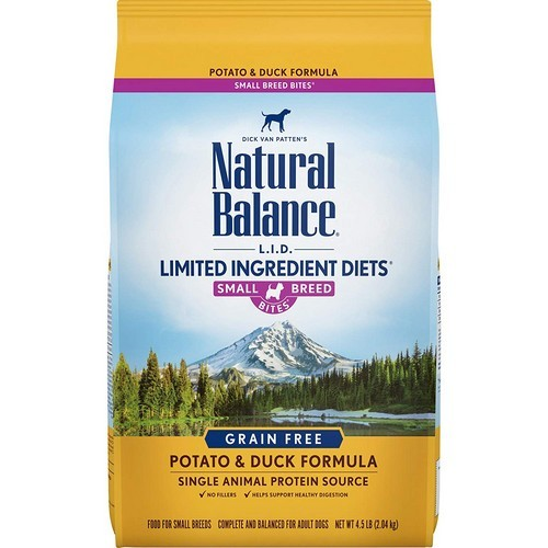 Best Grain Free Dog Food for Skin Allergies 2. Natural Balance Limited Ingredient Dry Dog Food - Potato & Duck Formula