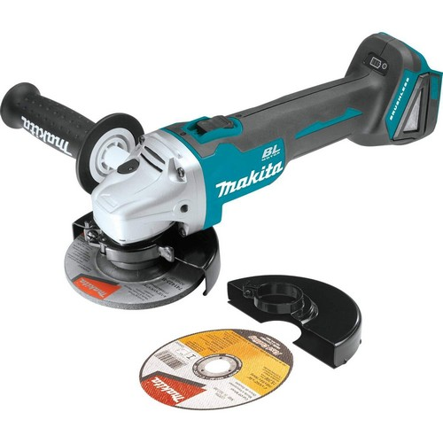 Best Cordless Angle Grinders 7. Makita XAG03Z 18V LXT Lithium-Ion Brushless Cordless Cut-Off/Angle Grinder, 4-1/2-Inch