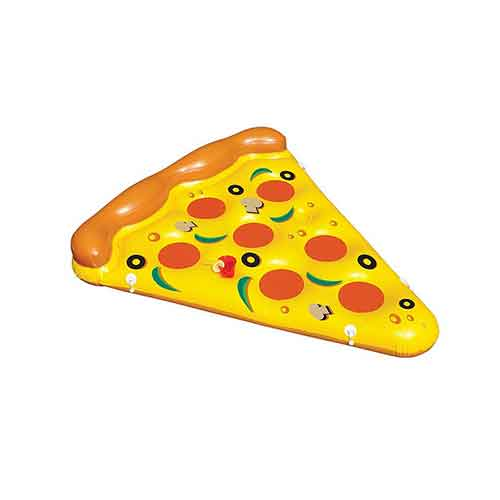 BEST POOL FLOATS FOR TANNING 5. Swimline Inflatable Pizza Slice Pool Float