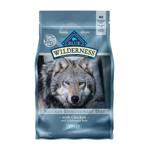 Best Grain Free Dog Food for Skin Allergies 1. BLUE Wilderness High Protein Grain Free Adult Dry Dog Food