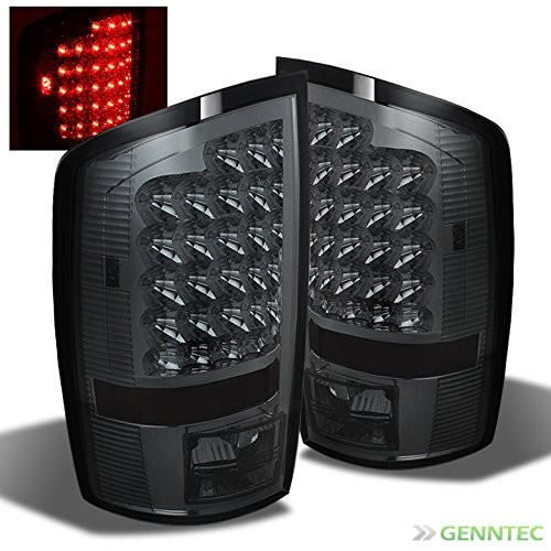 Best Dodge Ram LED Tail Lights 9. Xtune LED Tail Lights Rear Brake Lamps Pair Left+Right