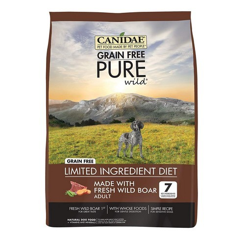 Best Grain Free Dog Food for Skin Allergies 7. CANIDAE Grain Free PURE Dry Dog Food