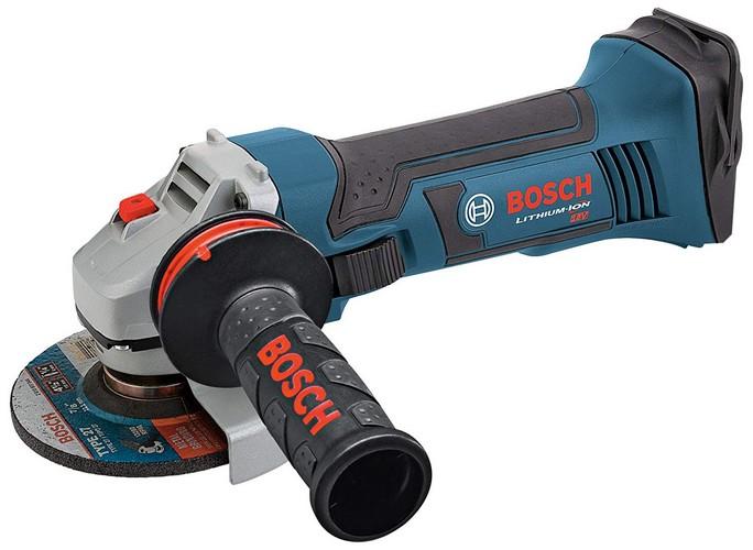 Best Cordless Angle Grinders 4. Bosch 18V Angle Grinder, 4-1/2 In. GWS18V-45