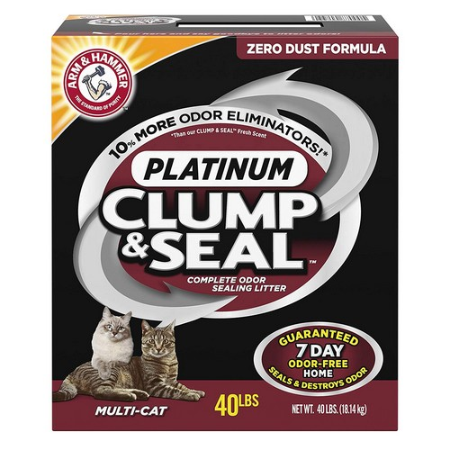 Best Clumping Cat Litters For Odor Control 3. Arm & Hammer Multi-Cat Clump & Seal Clumping Litter