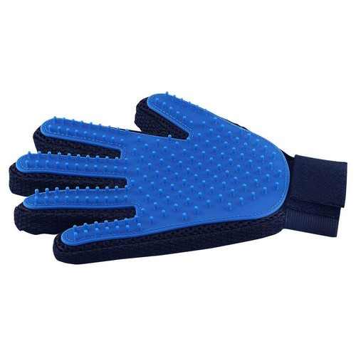 Best Cat Grooming Gloves 2. Pet Hair Remover Glove - Gentle Pet Grooming Glove Brush - Deshedding Glove - Massage Mitt with Enhanced Five Finger Design - Perfect for Dogs & Cats