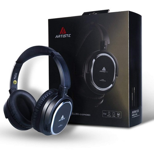 Best Noise Cancelling Headphones Under 50 3. Artiste ANC100 Active Noise Cancelling Headphones
