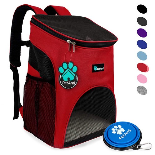 Best Dog Carrier Backpacks 7. PetAmi Premium Pet Carrier Backpack for Small Cats and Dogs