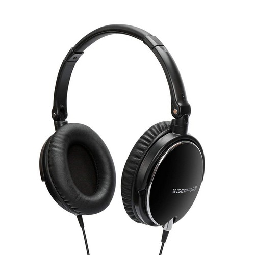 Best Noise Cancelling Headphones Under 50 2. Insermore Active Noise Cancelling Headphones