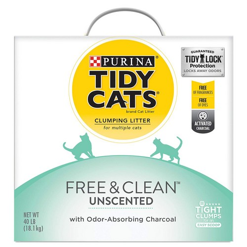 Best Clumping Cat Litters For Odor Control 5. Purina Tidy Cats 24/7 Performance Clumping Cat Litter