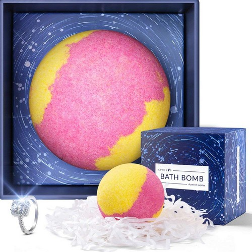 Best Bath Bombs With Rings 3. Aprilis Bath Bomb with Surprise Ring 6.3 oz
