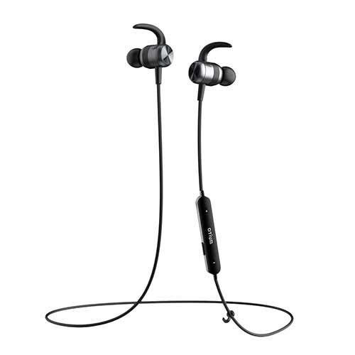 Best Noise Cancelling Headphones Under 50 8. Bluetooth Headphones, Otium Magnetic Wireless Earbuds IPX7 Waterproof in-Ear Sports Earphones w/Mic Gym Running Cycling Workout(Super Sound Quality, CVC 6.0 Noise Cancelling Secure Fit)