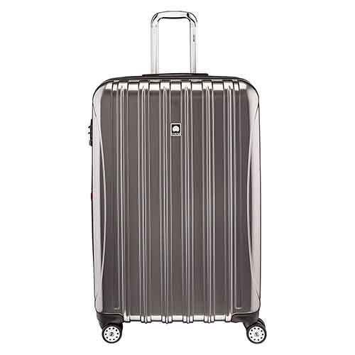 Lightweight Checked Luggages 10. Delsey Luggage Helium Aero, Large Checked Luggage