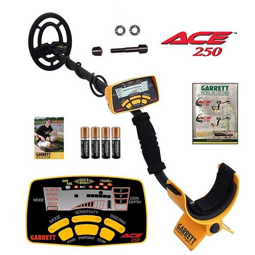 Best Metal Detectors for Gold 7. Garrett Ace 250 Metal Detector