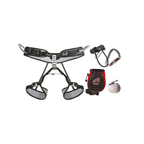 Best Climbing Harness for Beginners 6. Mad Rock Mars Climbing Package