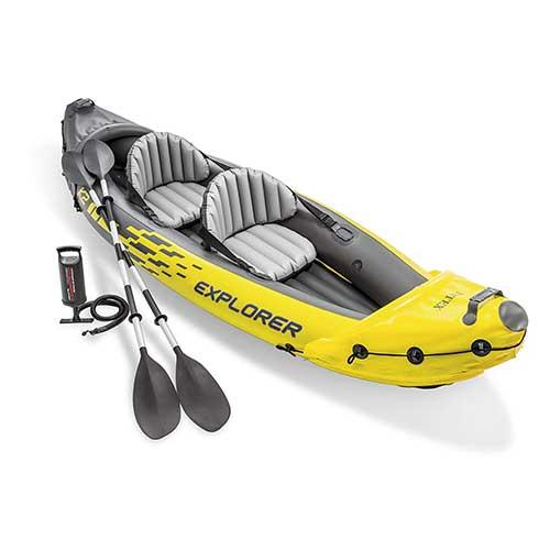Best Inflatable Kayak under 500 1. Intex Explorer K2 Kayak