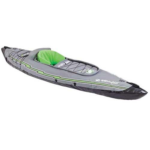 Best Inflatable Kayak under 500 7. Sevylor Quikpak K5 1-Person Kayak