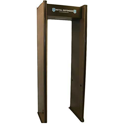 Best Professional Metal Detectors 5. Multizone Zone Walk Through Metal Detector