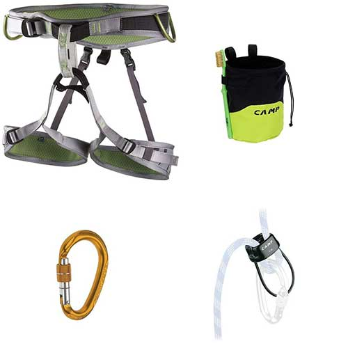 Best Climbing Harness for Beginners 10. Camp Flint Climbing Kit