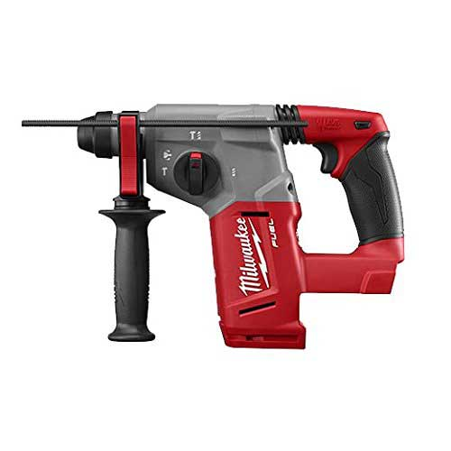Best Cordless Rotary Hammer Drills 3. Milwaukee 2712-20 M18 Fuel 1