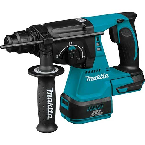 Best Cordless Rotary Hammer Drills 2. Makita XRH01Z 18V LXT Lithium-Ion Brushless Cordless 1-Inch Rotary Hammer