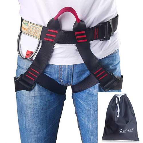 Best Climbing Harness for Beginners 3. Climbing Harness, Oumers Safe Seat Belts