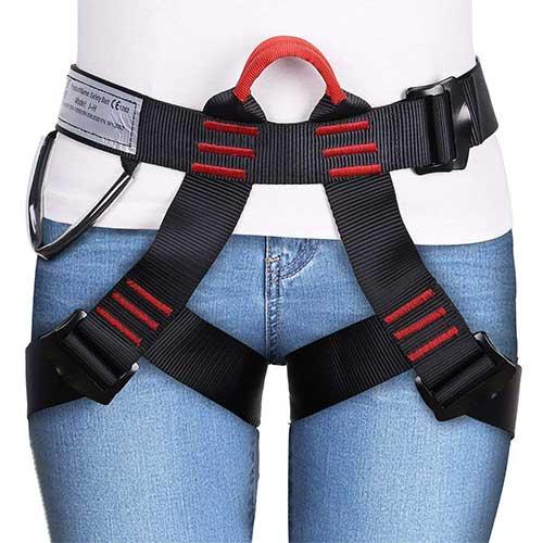 Best Climbing Harness for Beginners 4. GHB Climbing Harness Safe Seat Belt