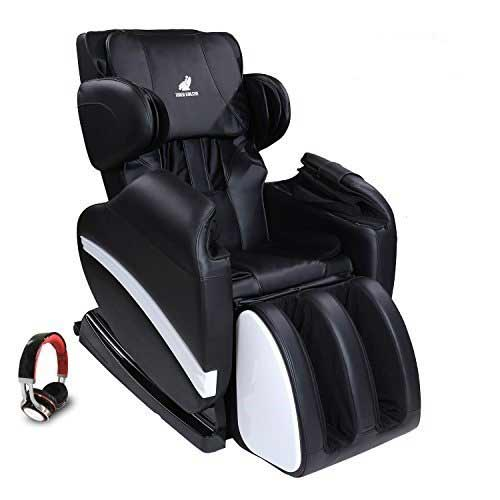 Best Massage Chairs Under 1000 6. SUNCOO Full Body Shiatsu Massage Chair Recliner w/Heat Stretched Foot Rest Black