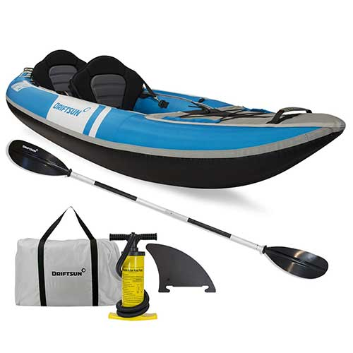 Best Inflatable Kayak under 500 4. Driftsun Voyager 2 Person Inflatable Kayak