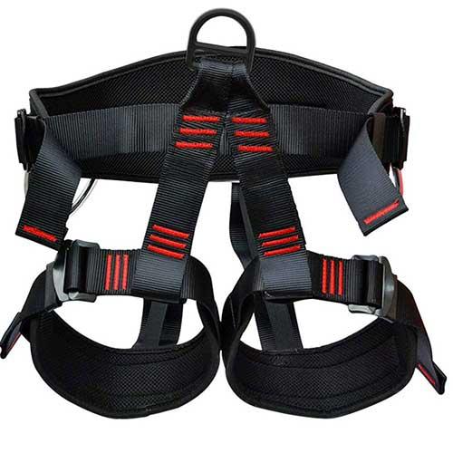 Best Climbing Harness for Beginners 8. Shxmlf Safety Climbing Harness