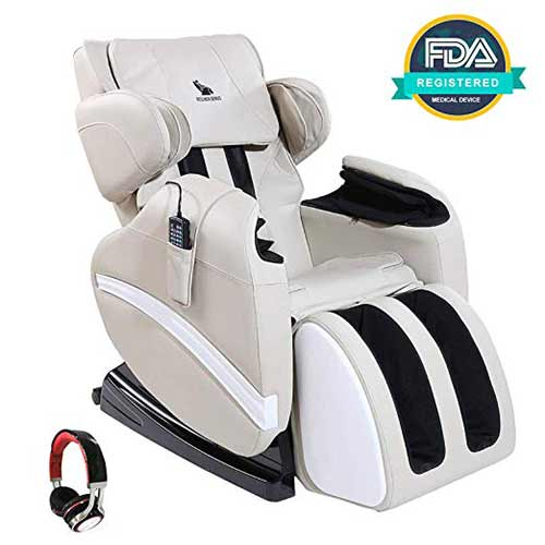 Best Massage Chairs Under 1000 4. Mecor Massage Chair Full Body, Zero Gravity Heated Recliner
