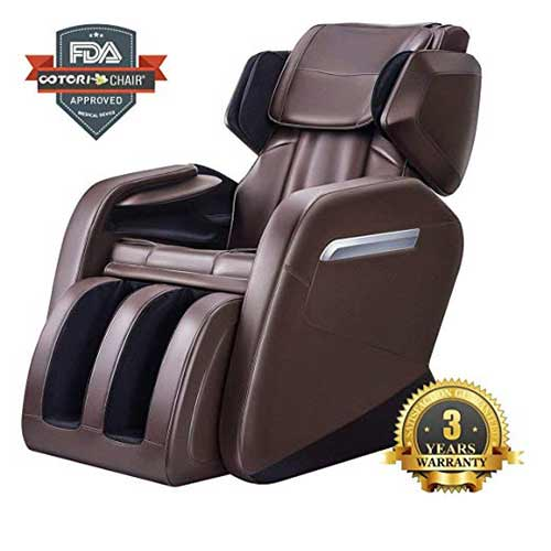 Best Massage Chairs Under 1000 7. Full Body Massage Chair, Zero Gravity & Air Massage, Foot Roller, Shiatsu Recliner