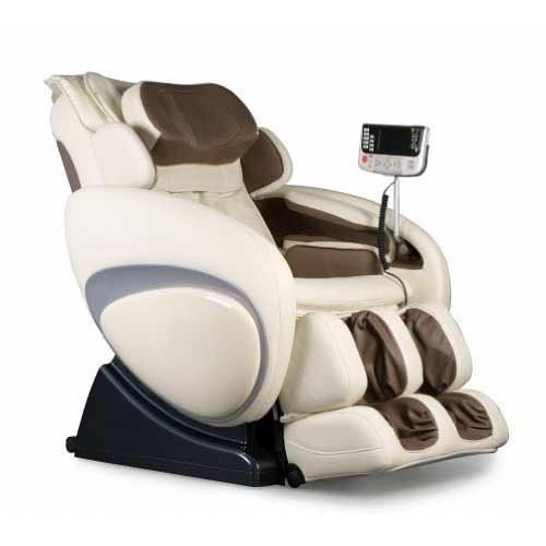 Best Massage Chairs Under 2000 4. OS-4000 Zero Gravity Heated Reclining Massage Chair - Cream Color Upholstery