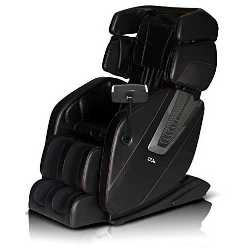 Best Massage Chairs Under 2000 3. 2017 new ICD-space saving technology massage chair l-track with zero gravity built-in heat and foot rolling (black)