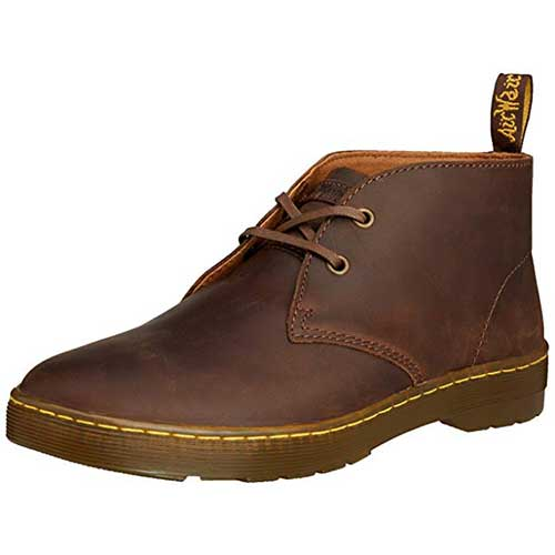 Best Chukka Boots Under 100 for Men 4. Dr. Martens Men's Cabrillo Chukka Boot