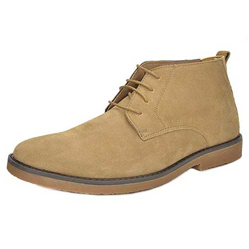Best Chukka Boots Under 100 for Men 3. BRUNO MARC NEW YORK Men's Classic Original Suede Leather Desert Storm Chukka Boots