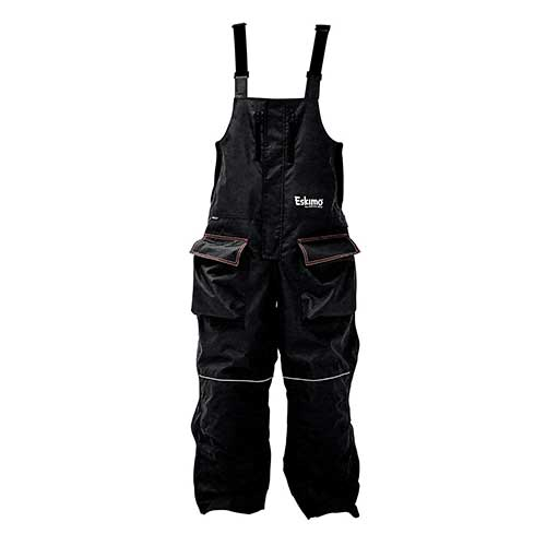 Best Ice Fishing Suits 3. Eskimo Lockout Ice Fishing Bibs (S-5XL)